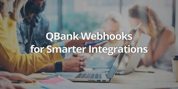 QBank Webhook Update