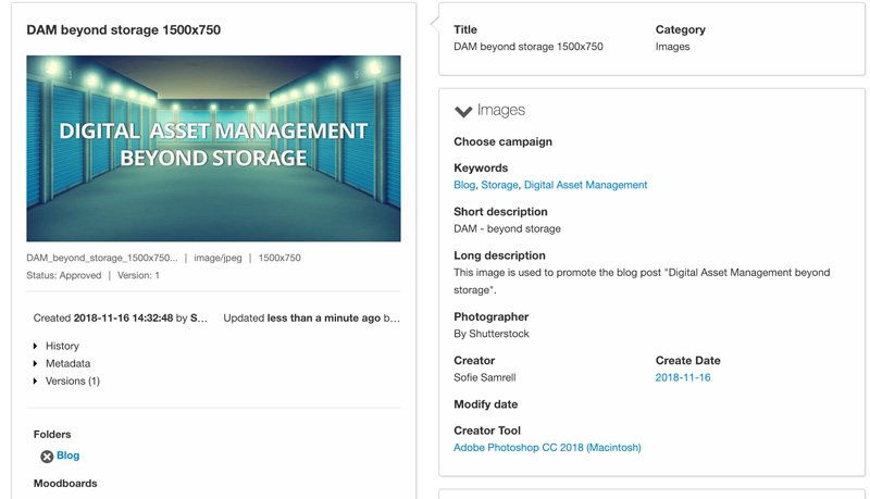 Metadata in QBank