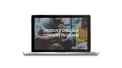 Create Content in QBank