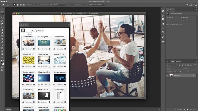 QBank Photoshop Connector
