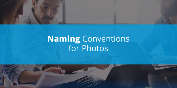 Naming Conventions for Photos